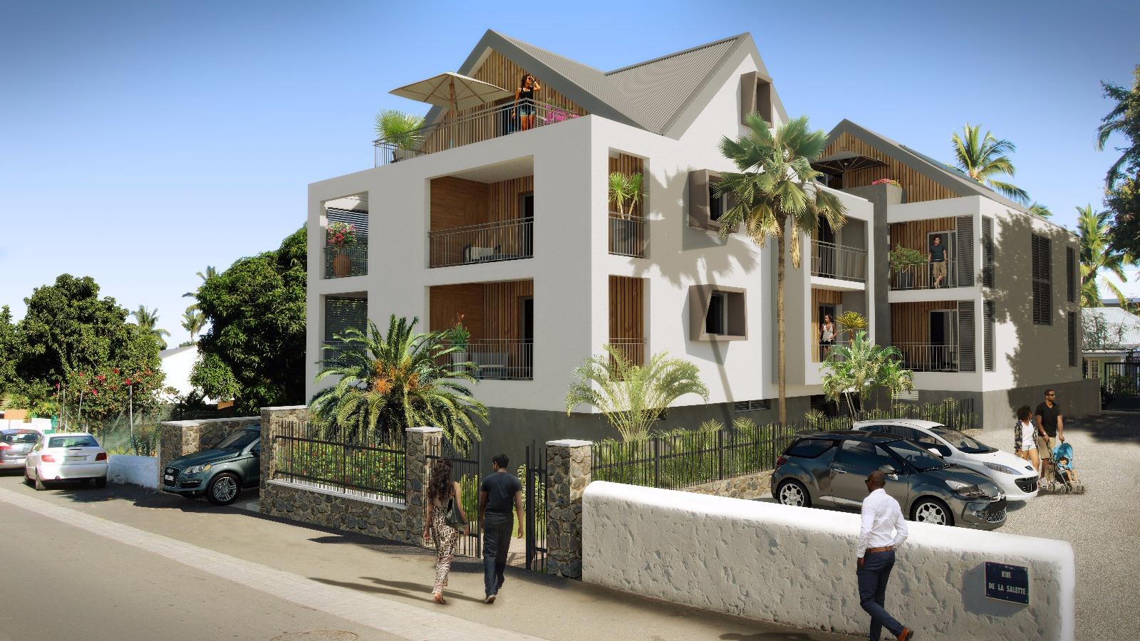 Vente appartement saint leu 3 pi ces 78m 290 000 sur for Assurer un garage hors residence